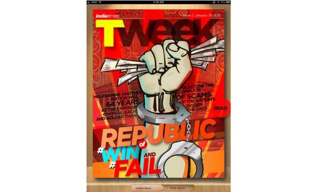 new Tweek magazine for tablets ipads and android users by Times Internet Limited