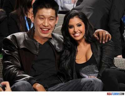 Jeremy Lin's Girlfriend Funny NBA pictures