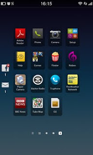 BlackBerry Z10 Icons