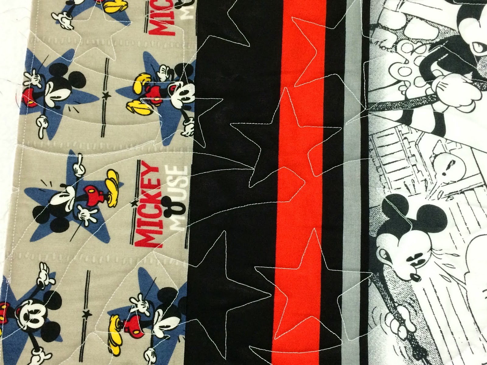 Elizabeth Magee Mickey Mouse Quilt