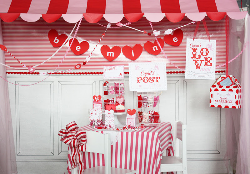 Kara\'s Party Ideas Cupid\'s Post Office- Valentine\'s Day Party ...