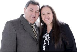 Presidente Pr. Paulo R. Arantes e Prª Doraci Arantes