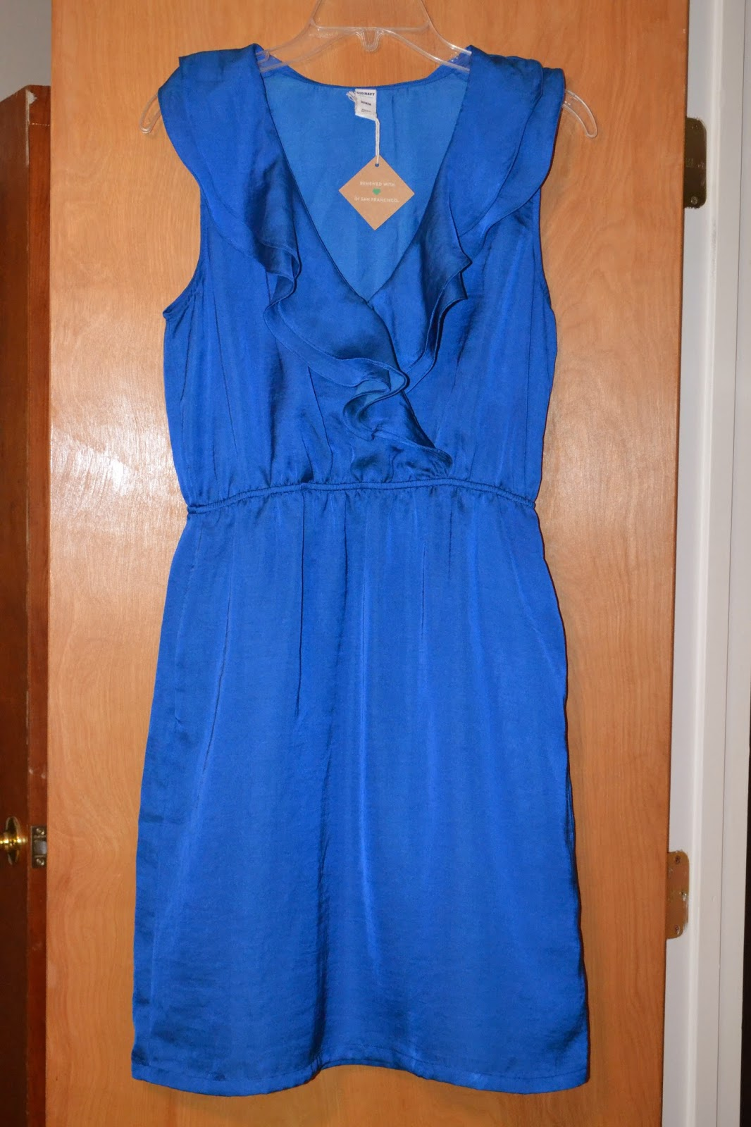 Thred up Blue Dress