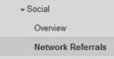 social referrals tracking