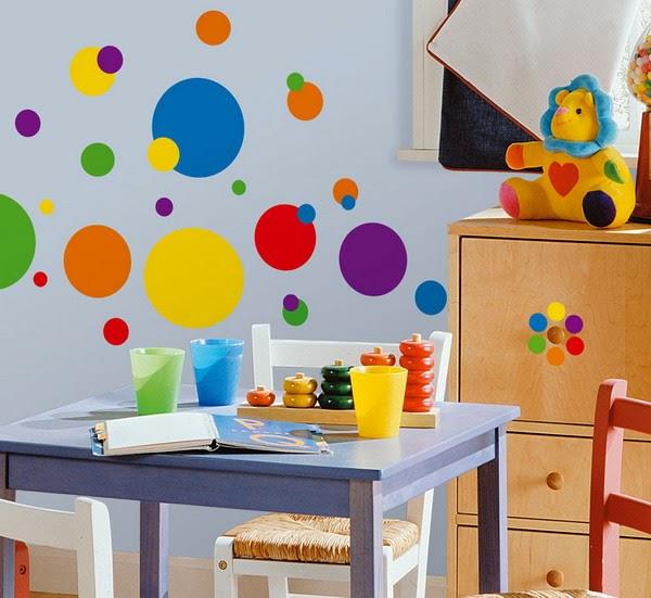 paredes pintadas con figuras geomtricas