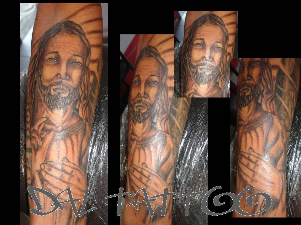 Extremamente Dal Tattoo Studio: Tattoo cristo NX45