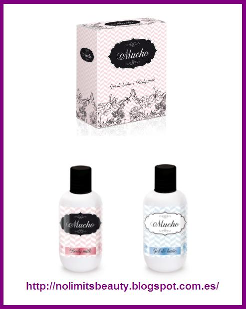 Set De Baño Mercadona:Set de gel de baño y body milk de la gama Mucho de Deliplús