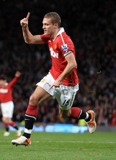 Nemanja Vidic Injury manchester United 2011/2012