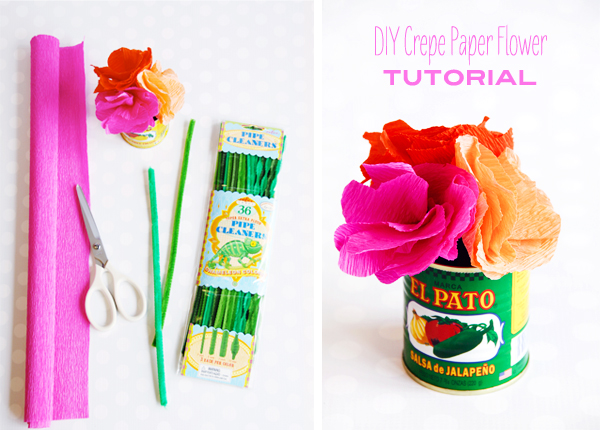 Crepe Paper Flower Tutorial {Shop Sweet Lulu}