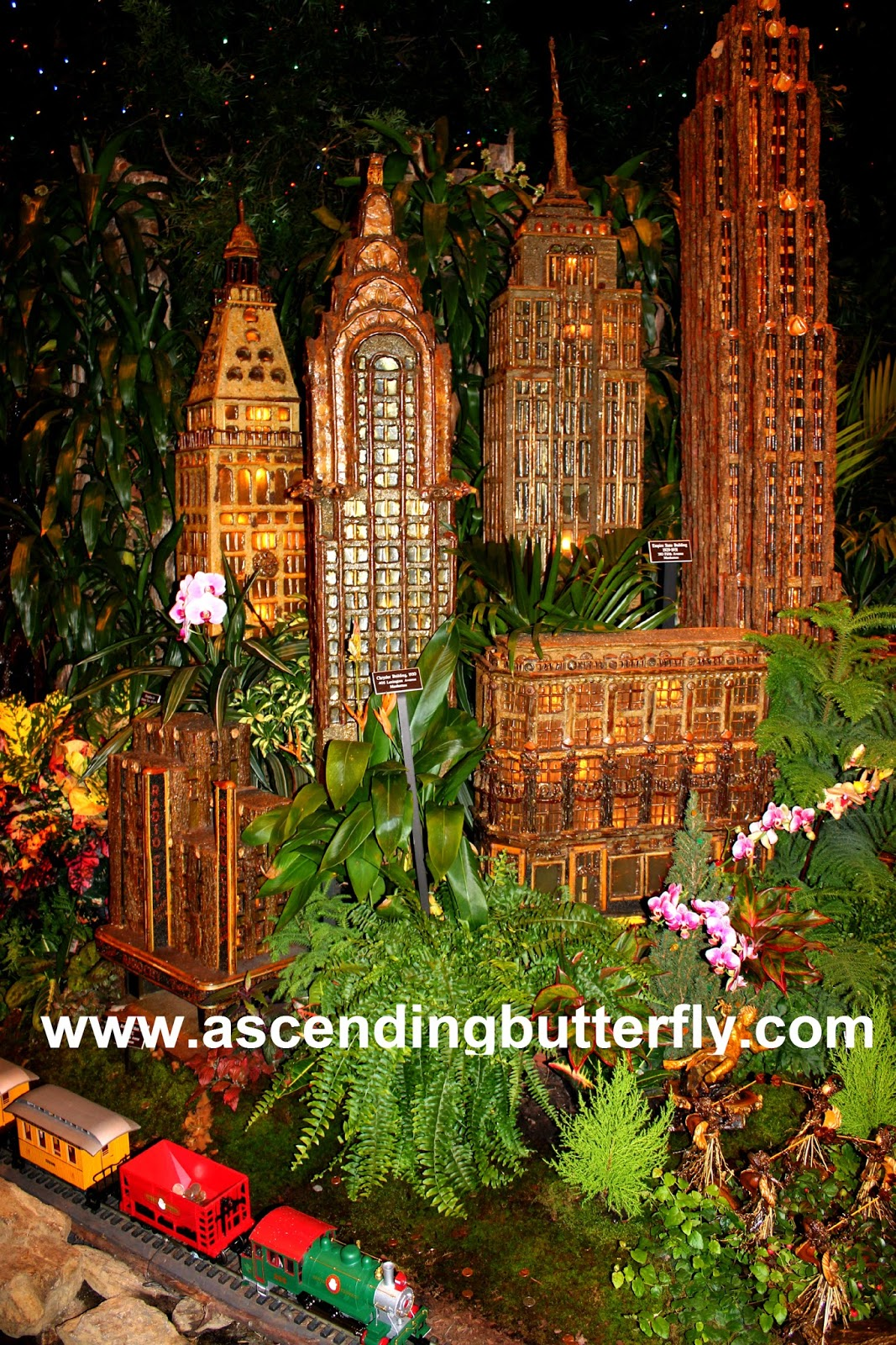 Ascending Butterfly: Last Chance for the @NYBG Holiday Train Show + ...