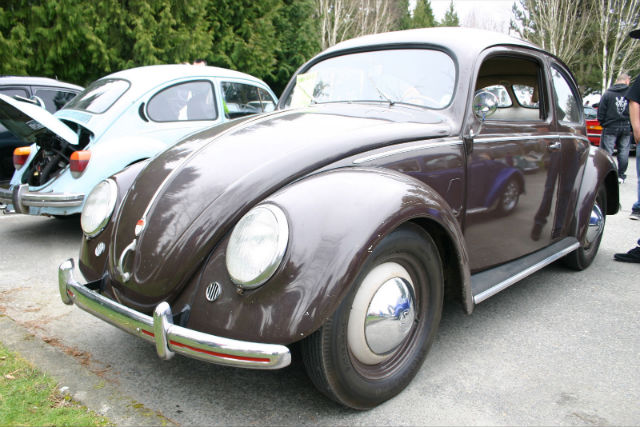 Spotted 1951 split window vw beetle the car hobby for 1951 volkswagen split window