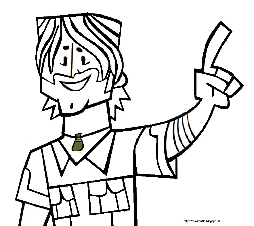 duncan tdi coloring pages - photo#17