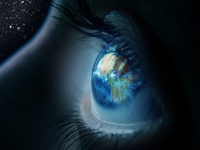 The world I see,blue eyes,planet Earth