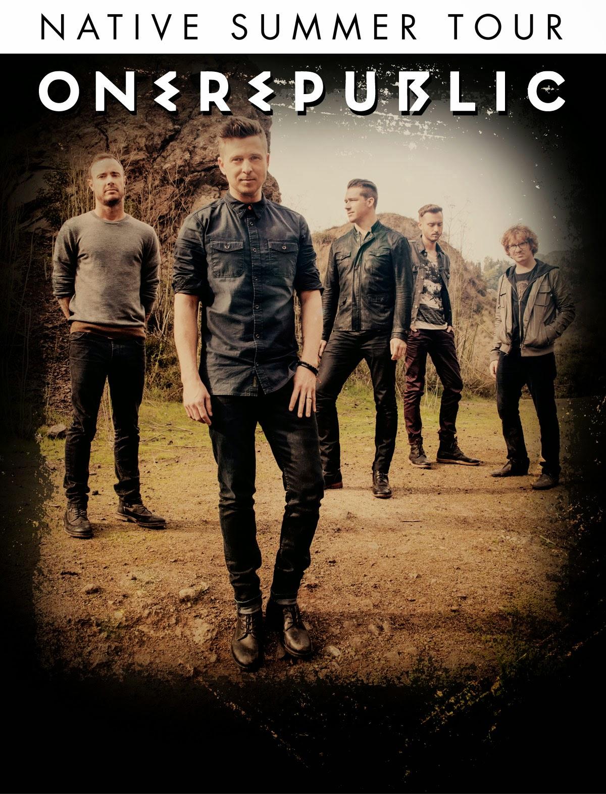 Onerepublic Native Tour Poster