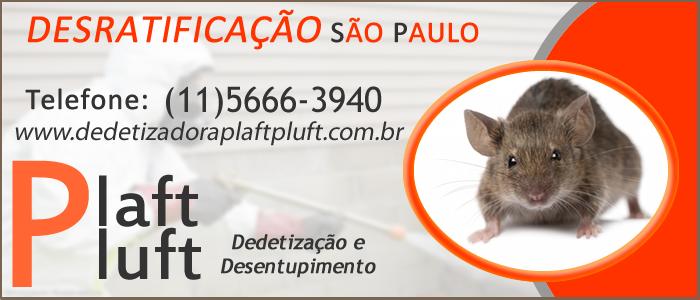 Desratificação São Paulo - Dedetização de Ratos