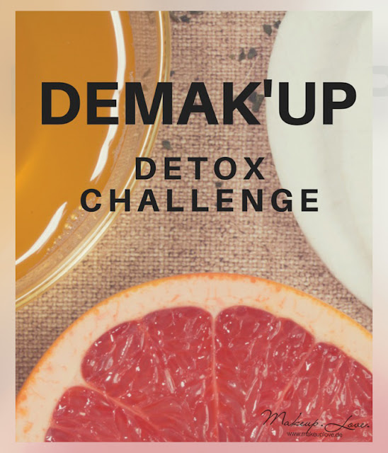 Demakup Detox Challenge DIY Toner Grüner Tee Grapefruit