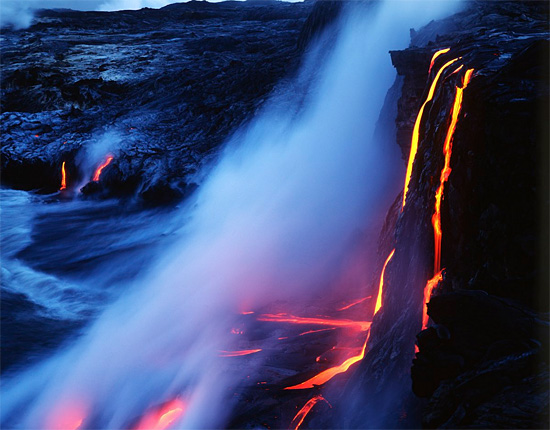 Lava Photography by G. Brad Lewis