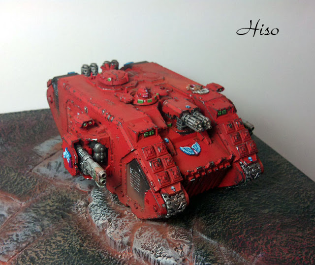 Land Raider Blood Angels