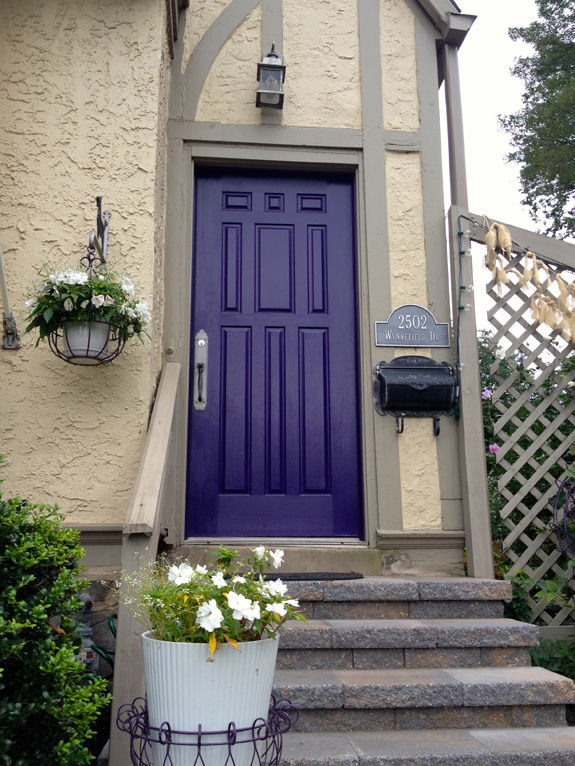 The Pink Chalkboard Purple Door Update