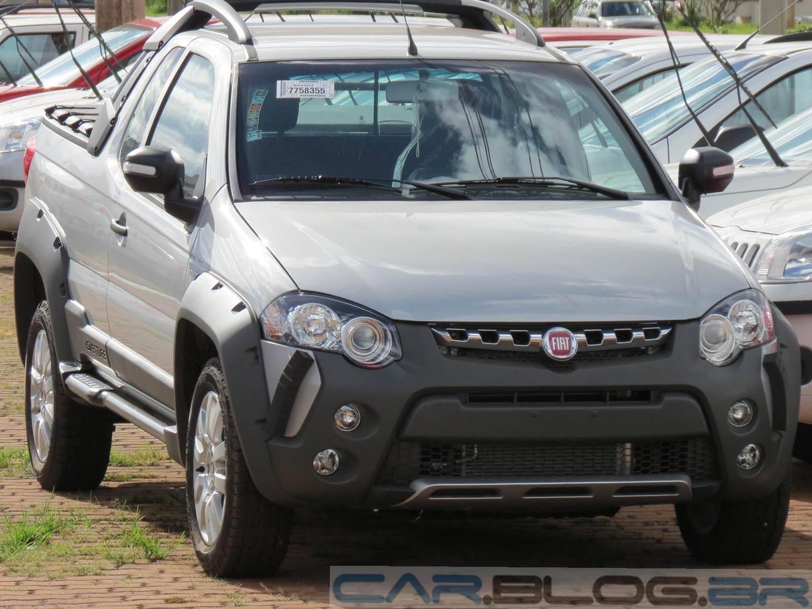 Fiat Strada - comercial leve mais vendido do Brasil em 2014
