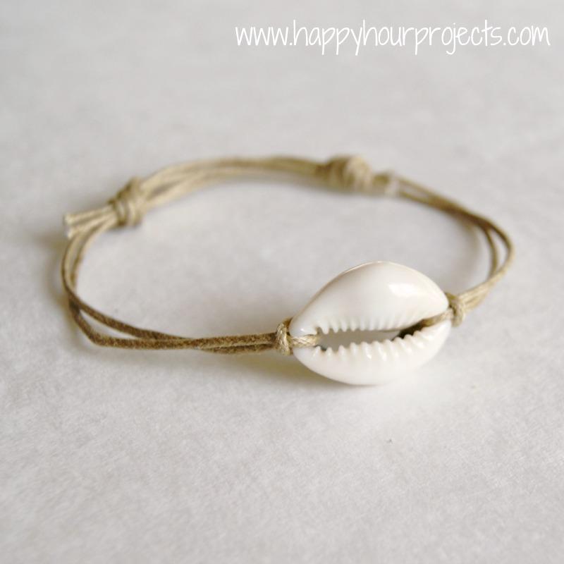basic sliding knot bracelet happy hour projects
