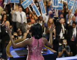 obama speech critique While watching melania trump's speech at the republican national convention on monday, mr favreau noticed similarities to a speech by michelle obama in 2008 credit damon winter/the new york times.