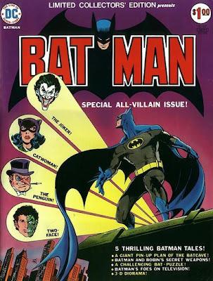 Batman Limited Collector's Edition, Jim Aparo cover