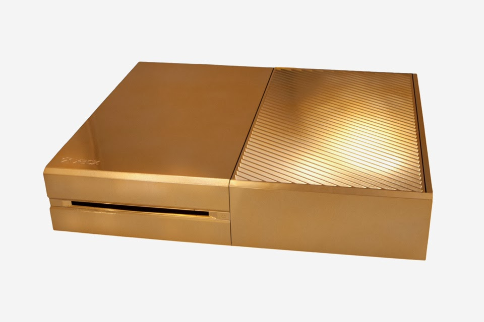 Xbox One chapada en oro