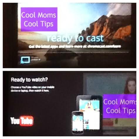 cool moms cool tips #staples chromecast tv screen