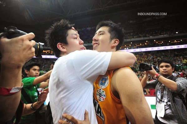 Despite one of them falling short, the Teng brothers showed no sign of bitterness after the buzzer sounded.