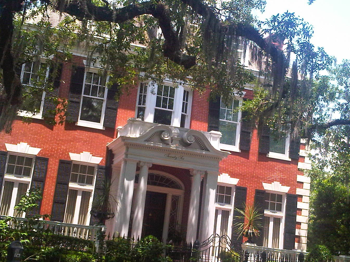 Savannah Mansion Movie Location Near Forsyth Park