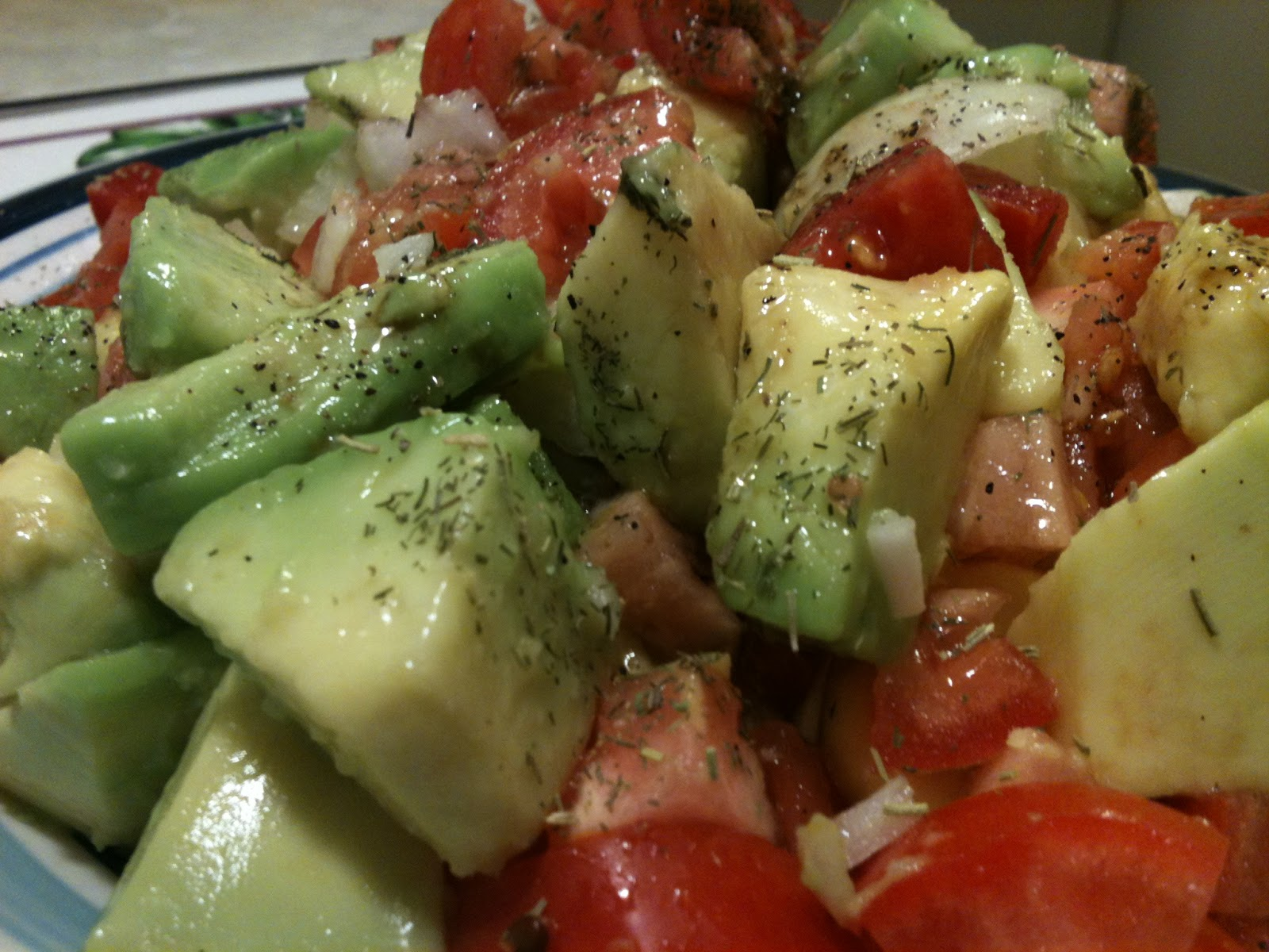 bacon and avocado black bean avocado cucumber and tomato salad tomato ...