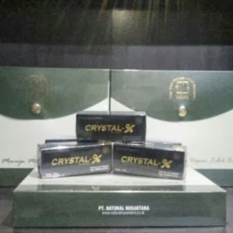 Distributor Crystal X Asli NASA