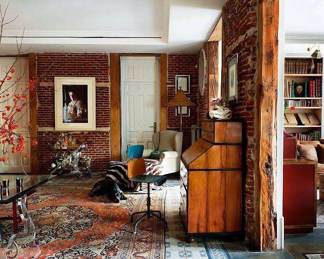Inspirująca aranżacja wnętrza apartamentu