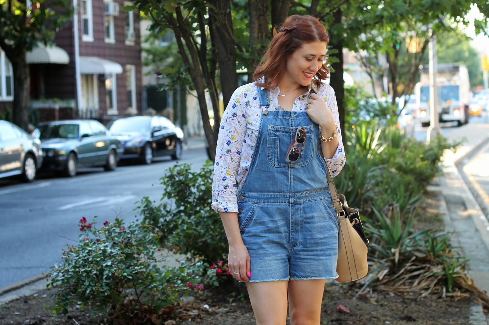 overalls, shortalls