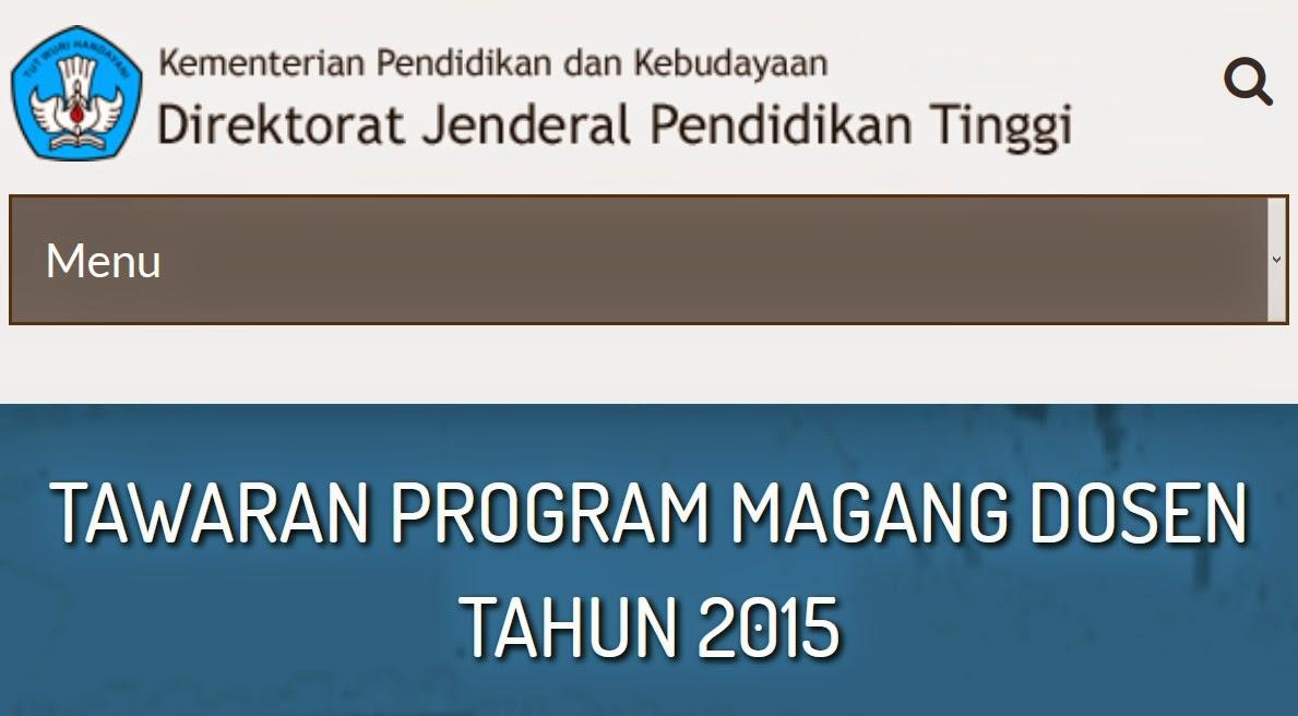 Info Magang Dosen