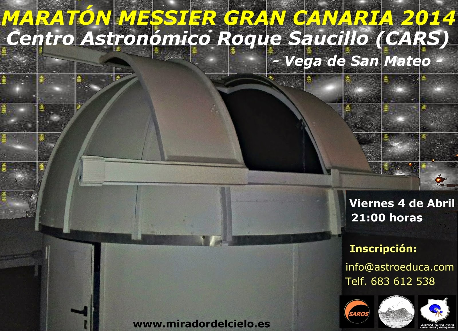Maratón Messier Gran Canaria 2014
