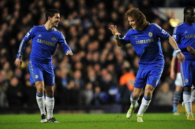 Chelsea's David Luiz Sure Can get Double