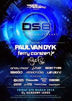 Digital Society Presents DS8 - The 8th Anniversary, Friday 6th of March