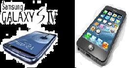 Review about the comparison of specifications of Samsung Galaxy S4 and iPhone 5S
