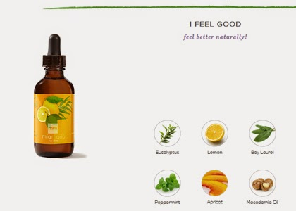 I Feel Good Essential Oil Key Ingredients
