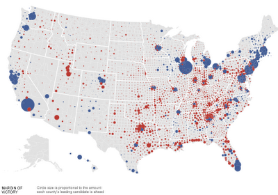 Common Cents More US County Presidential Election Result Maps - Us map 2012 presidential election