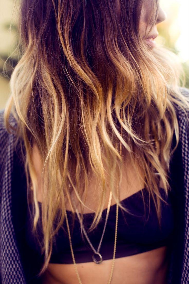 La moda en tu cabello mechas californianas en el cabello - Couleur ombre hair ...