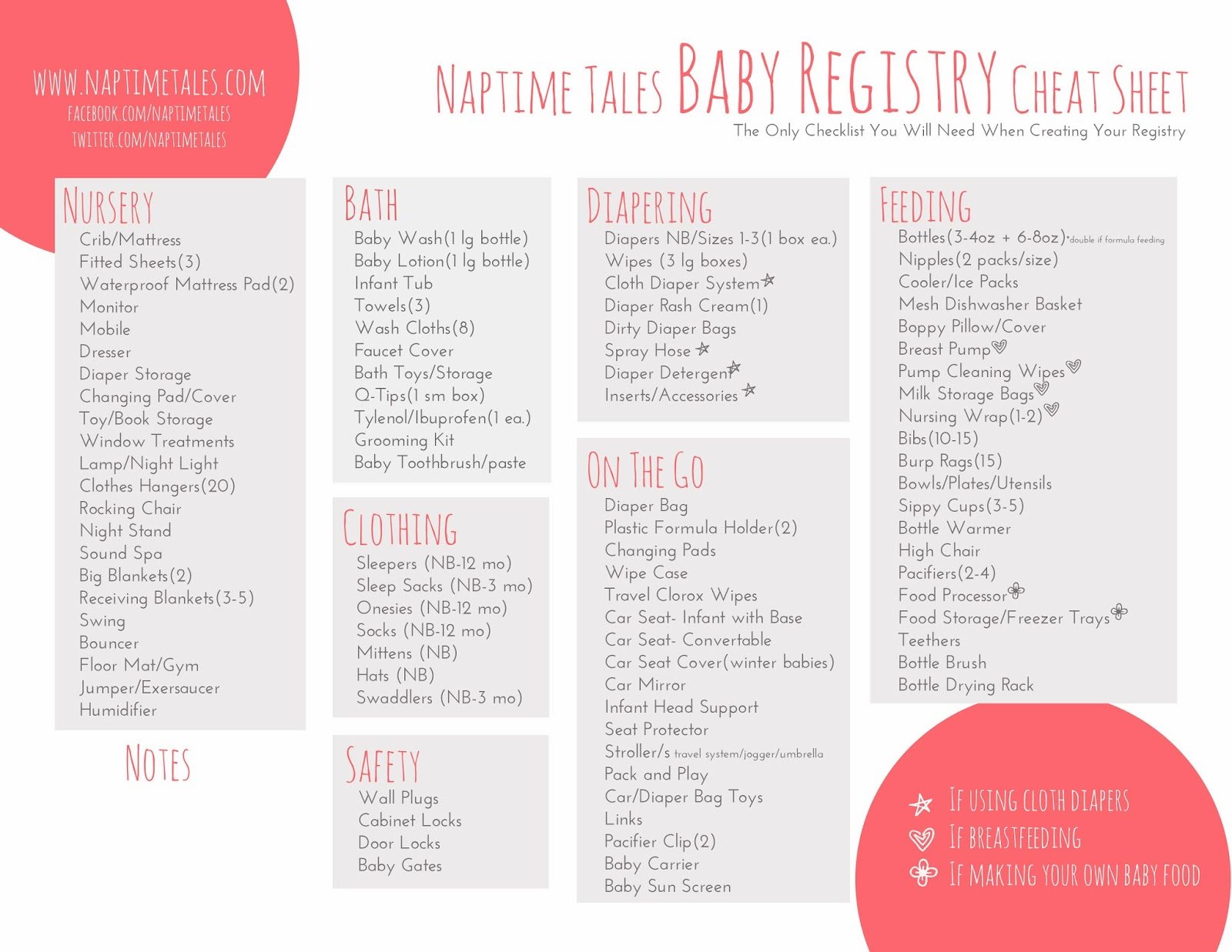 baby shower registry checklist printable car tuning