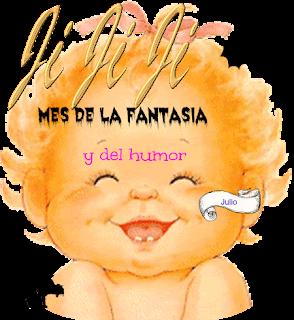 Julio: mes del humor y la fantasía