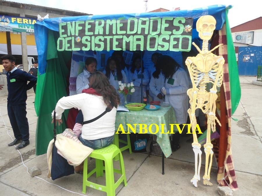 Expo Stand Bolivia : Anbolivia estudiantes de la escuela 'shalom del