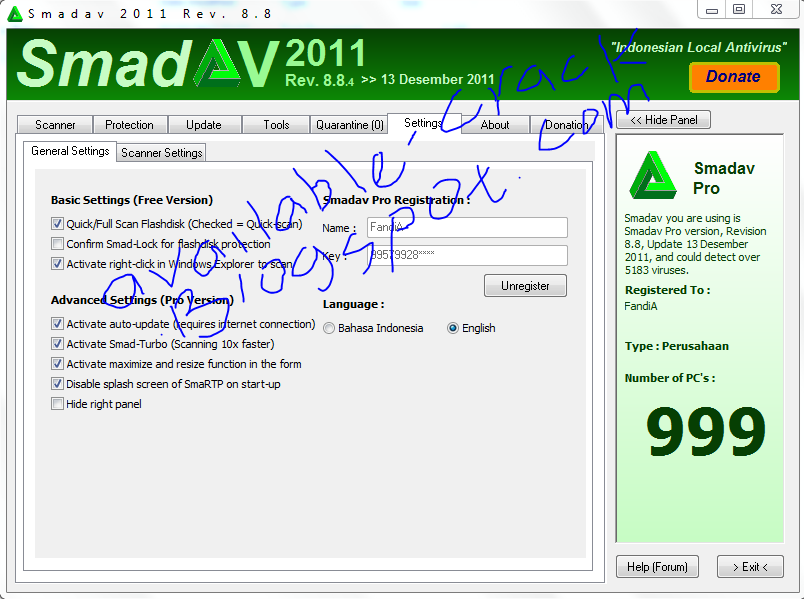 fullcrack 8 2012 download full 2012 nomber smadav systemcare full