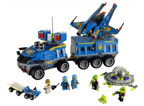 Toys and Bacon: Figure Friday: 5 Vintage Space Lego Sets (that I ...