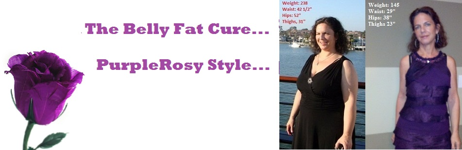 The Belly Fat Cure...PurpleRosy Style...