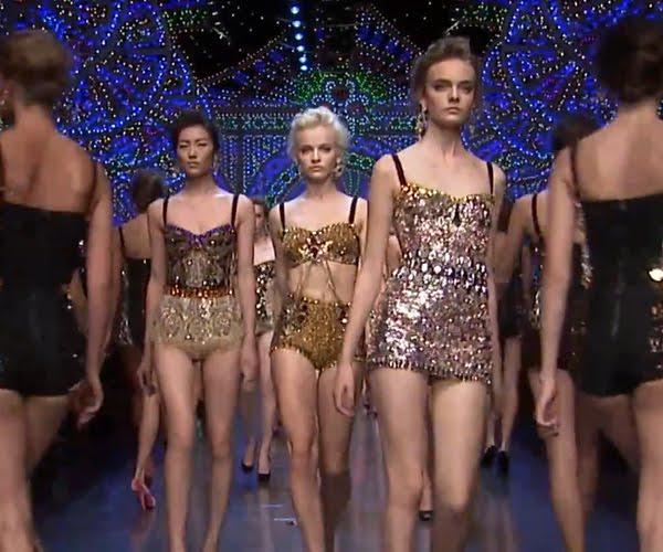 Arany ezüst - Dolce & Gabban csillogás